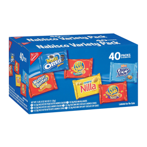 Nabisco Variety Cookies & Crackers 40's