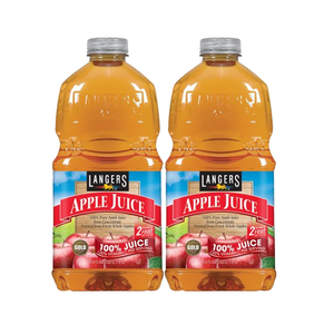 Langers 100% Apple Juice 2 Pack (1.89L per pack)