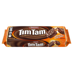 Arnott's Tim Tam Chewy Caramel Biscuit 200g