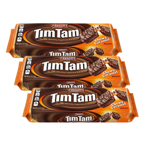Arnott's Tim Tam Chewy Caramel Biscuit 3 Pack (200g per Pack)