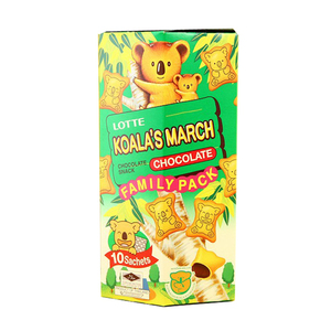 Lotte Koala's March Chocolate Cream Filled Cookies 10ct