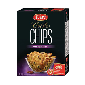Dare Cookie Chips Oatmeal Raisin 170g