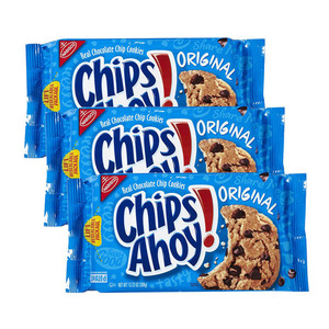 Nabisco Chips Ahoy! Original Chocolate Chip Cookies 3 Pack (368g per Pack)