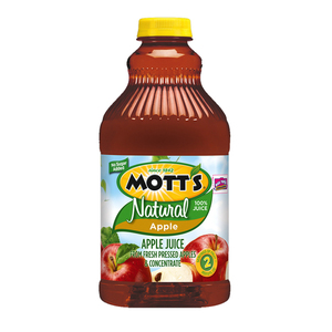 Mott's 100% Natural Apple Juice 1.89L