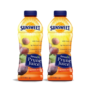 Sunsweet Amazin Prune Juice with Pulp 2 Pack (946.3ml per pack)