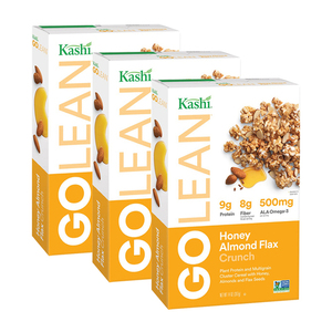 Kashi GOLEAN Honey Almond Flax Crunch Cereal 3 Pack (397g per Pack)