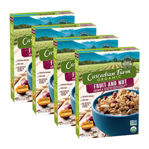Cascadian Farm Organic Fruit and Nut Granola 4 Pack (382g per Box)