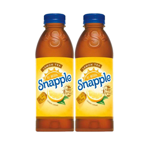 Snapple All Natural Lemon Tea 2 Pack (591.4ml per pack)