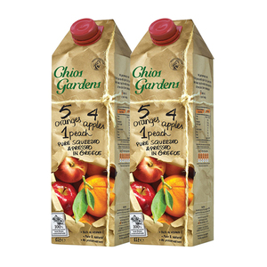 Chios Garden 3 Fruits Juice 2 Pack (1L per pack)