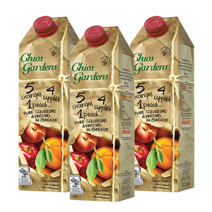 Chios Garden 3 Fruits Juice 3 Pack (1L per pack)