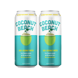 Coconut Beach 100% Coconut Water 2 Pack (490ml per pack)