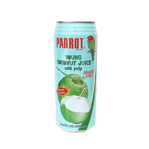 Parrot Brand Coconut Water 487.9ml