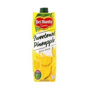 Del Monte Sweetened Pineapple Juice 1L