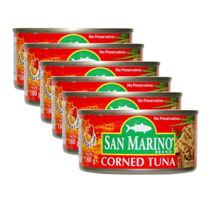 San Marino Corned Tuna Red 6 Pack (180g per pack)