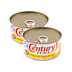 Century Tuna Flakes in Vegetable Oil 2 Pack (180g per pack)