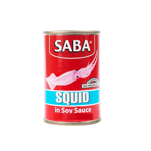 Saba Squid Soy Sauce 425g