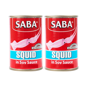Saba Squid Soy Sauce 2 Pack (425g per pack)