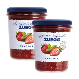 Oswald Zuegg Orchards Strawberry Jam 2 Pack (320g per Jar)