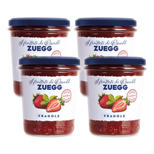 Oswald Zuegg Orchards Strawberry Jam 4 Pack (320g per Jar)