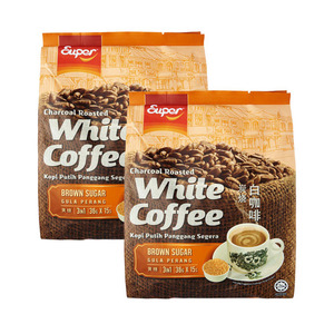 Super Charcoal Roasted White Coffee Brown Sugar 2 Pack (14x15g per Pack)