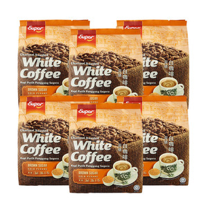 Super Charcoal Roasted White Coffee Brown Sugar 6 Pack (14x15g per Pack)