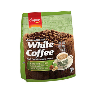 Super Charcoal Roasted 3in1 Hazelnut White Coffee 15x36g