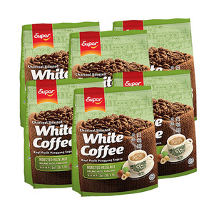 Super Charcoal Roasted 3in1 Hazelnut White Coffee 6 Pack (15x36g per Pack)