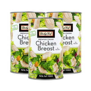 Daily Chef All Natural Chicken Breast in Water 3 Pack (1.4kg per pack)