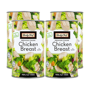 Daily Chef All Natural Chicken Breast in Water 4 Pack (1.4kg per pack)
