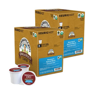 Newman's Special Blend Extra Bold Coffee K-Cup Pod 2 Pack (12x11.4g per Box)