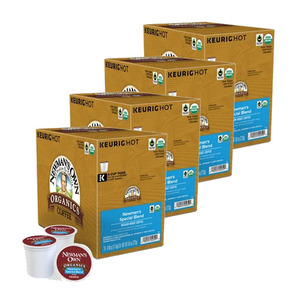 Newman's Special Blend Extra Bold Coffee K-Cup Pod 4 Pack (12x11.4g per Box)