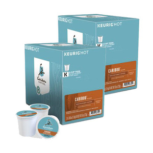 Caribou Coffee Caribou Blend Coffee K-Cup Pod 2 Pack (12x11.4g per Box)
