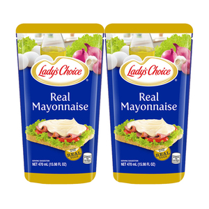 Lady's Choice Real Mayonnaise 2 Pack (470ml per pack)