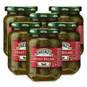 Heinz Sweet Relish 6 Pack (296ml per pack)