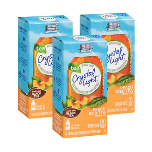 Crystal Light Peach Iced Tea 3 Pack (19.8g per Box)