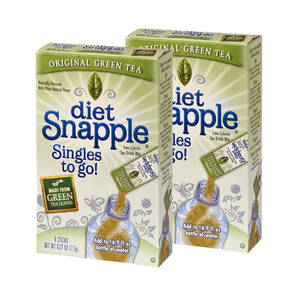 diet Snapple Singles to go! Iced Tea Mix 2 Pack (6x7.2g per Box)