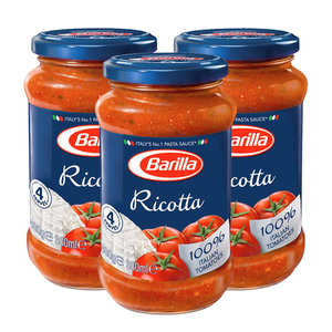 Barilla Ricotta Sauces 3 Pack (400g per pack)