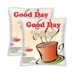 Good Day Vanilla Latte Instant Coffee 2 Pack (30x20g per Pack)