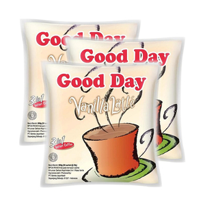 Good Day Vanilla Latte Instant Coffee 3 Pack (30x20g per Pack)