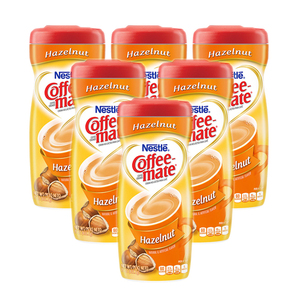Nestle Coffee-mate Hazelnut Creamer 6 Pack (425.2g per Canister)