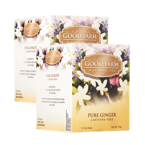 Good Farm Pure Ginger Natural Tea 2 Pack (12x2g per Box)