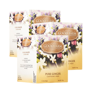 Good Farm Pure Ginger Natural Tea 3 Pack (12x2g per Box)