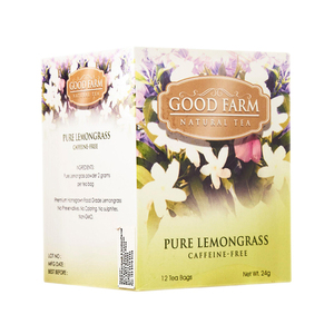 Good Farm Pure Lemongrass Natural Tea 12x2g
