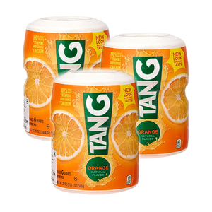 Tang Orange Powdered Drink Mix 3 Pack (566g per Canister)