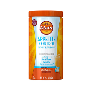 Metamucil Appetite Control Orange Zest Dietary Supplement 662g