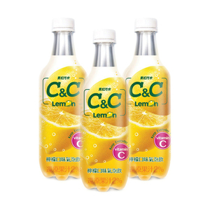 C&C Lemon Sparkling Drink 3 Pack (500ml per Bottle)