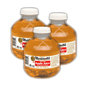 Martinelli's 100% Pure Apple Juice 3 Pack (296ml per Bottle)
