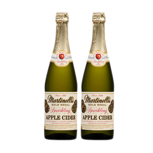 Martinelli's Classic Heritage Label Sparkling Apple Cider 2 Pack (750ml per Bottle)