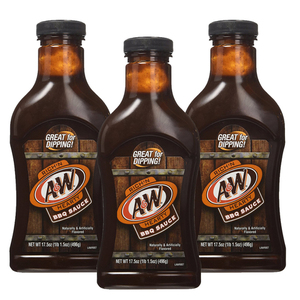 A&W Rich'N Hearty BBQ Sauce 3 Pack (510g per pack)