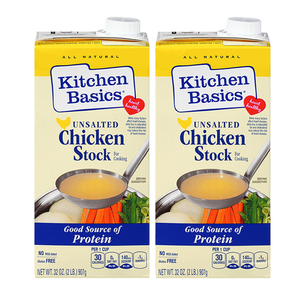 Kitchen Basics Chicken Cooking Stock 2 Pack (907g per pack)
